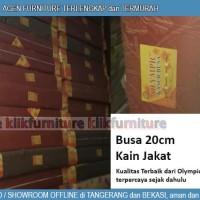 Kasur Busa Olympic 200 x 160 x 20 cm Kain Jakat