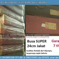 Kasur Busa Olympic Super 200 x 180 x 24 cm Kain Jakat