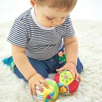Original Fisher Price Rattle Chime Ball / Bola Bayi Kerincingan