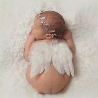 Baby Photography Property Perlengkapan Foto Bayi Sayap Headband