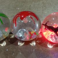 BEST SELLER Mainan Bola Bekel Laba-laba Diameter Besar 75MM