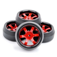 D08 RC drift tires, ban RC velg 1:10