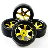 D12 RC drift tires, ban RC velg 1:10