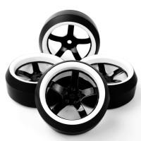 D09 RC drift tires, ban RC velg 1:10