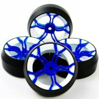 D11 RC drift tires, ban RC velg 1:10