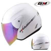 kaca helm. merk clear. untuk helm GM evolutin. murah