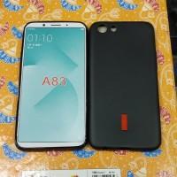 Silikon soft case karet hitam capdase oppo a83 a 83 murah meriah