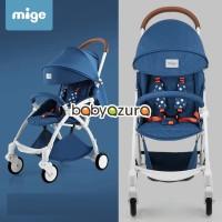 Stroller mige ringan lipat kereta bayi stroller yoya travelling blue