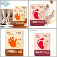 BIOAQUA 2 in 1 HAND AND FOOT MASK ( MASKER TANGAN DAN KAKI ) 70gram