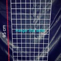 Ram Jaring dinding 45cm x 95 cm Gantungan kawat hook