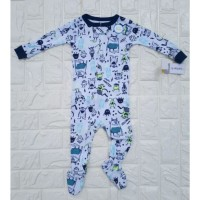 [SEPATUANAK LED] GLOW IN THE DARK Piyama Anak / Sleepsuit Jumper Carte
