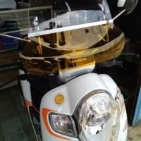 Aksesoris Motor Scoopy windshield flyscreen Visor scoopy