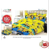 Bedcover ladyrose minion barca messi robo car captain america madrid