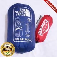 O-Outdoor Paket hemat Sleepingbag polar bulu tebal ~ Hammock single