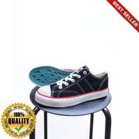O-Outdoor Sepatu Warrior Classic Low Hitam / Sepatu Warrior Pendek Bla
