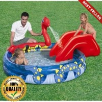 O-Outdoor Kolam Renang Anak Ular / Viking Pool Perosotan BESTWAY