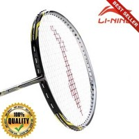 O-Outdoor Badminton Racket AYPK098 Razor RZ-9 Blk/Silver GRATIS Cover