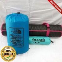 O-Outdoor Paket Hemat ~ Sleeping Bag & Hammock & Matras ~ Polar Bulu H
