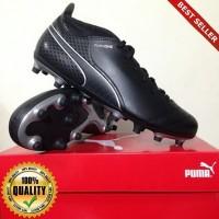 O-Outdoor Sepatu Soccer Puma One 17.4 FG Black 104075-04 Original BNIB