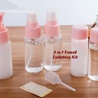 5 in 1 Travel Toiletries Kit ( 1 set isi 5 pcs botol)
