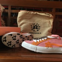 Converse x Golf le Fleur Candy Pink / Orange Peel / White