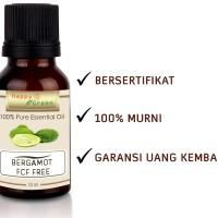 Happy Green 100% Pure Bergamot FCF Free Essential Oil Minyak Bergamot