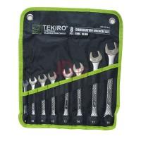 TEKIRO KUNCI RING PAS SET 8 PCS 8 - 19 MM WR-SE1644