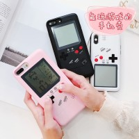 Gameboy Case iPhone X iPhone 6s 6s Plus 7 7 Plus 8 8 Plus Game Boy - Hitam, iP 6 6s Plus