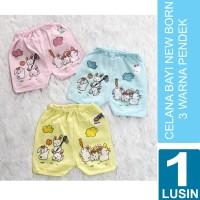 [1 Lusin] Grosir Baby Clothes (3 colors) Celana Bayi 0-6 bulan