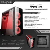 PAKET PC CPU RAKITAN GAMING DESIGN AMD RYZEN 7 1700 ROG B450 GTX 1060