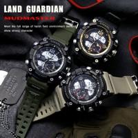 Jam Tangan Pria Digital LED Sport SMAEL 1617 Original Dual Time