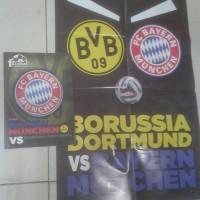 Majalah edisi fc bayern munchen masih dilengkapi bonus poster