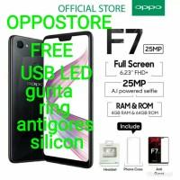 Oppo F7 ram 4/64 garansi resmi oppo indonesia