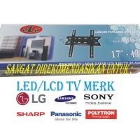 Bracket untuk tv Sharp, LG , Samsung , dll ukuran LED 17 - 43