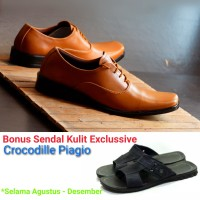 Pantofel Pria Italian Leather New Concept Free Sandal Leather