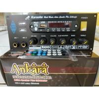 Kit Power Amplifier Speaker Aktif Stereo Karaoke Plus Bluetooth - MP3