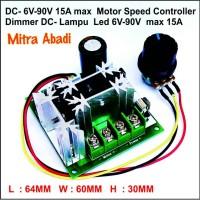 Speed Controller/PWM DC/Dimmer DC 6V-90V 15A