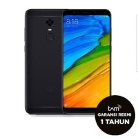 Xiaomi Redmi 5 3/32gb - garansi TAM - BLACK / GOLD