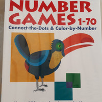 Buku Kumon number games 1-70