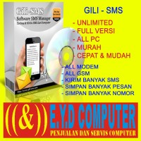 PROGRAM GILISMS FULL VERSI ALL PC APLIKASI GILI SMS MASAL SOFTWARE