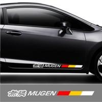 Cutting Sticker / Stiker Kaca Body Mobil & Stiping Mobil Mugen