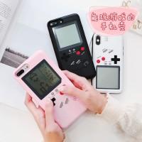 Case Gameboy Case iPhone 7 Plus 7 8 Plus iPhone X 6s 6s Plus Game Boy - Hitam, iP 6s 6s Plus