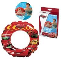 Intex Swim Ring Cars Mcqueen 51cm Pelampung Ban Renang Anak