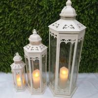 Lentera Dekorasi Perset / Lentera Putih / Lantern