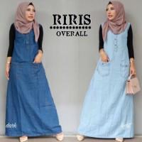 Damai fashion jakarta - baju overall (TANPA INNER) wanita RIRIS 2 warn