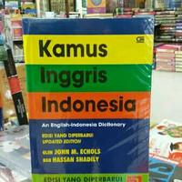 KAMUS INGGRIS - INDONESIA - edisi yang diperbarui - JOHN ECOLS