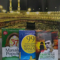 Buku 37 MASALAH POPULER - 99 TANYA JAWAB SEPUTAR SHALAT - JALAN DAKWAH