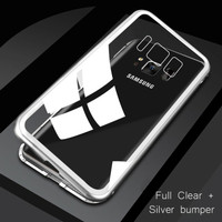 Samsung Galaxy S8 - S8 Plus, Case Magnetic Glass