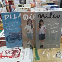 Novel PIDI BAIQ 1 PAKET 3 BUKU - DILAN 1990 - DILAN 1991 - MILEA