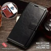 Flip Cover Xiaomi Redmi S2 Leather Case - Casing Kulit